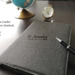 Vegan leather notebooko